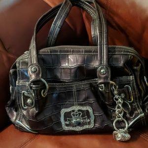 Kathy Van Zeeland Plum Bag New